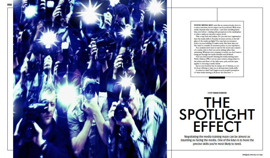 The Spotlight Effect