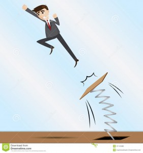 cartoon-businessman-jumping-springboard-illustration-progress-concept-41144580